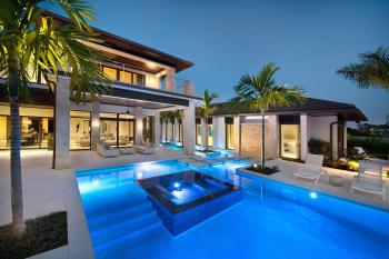 Exquisite Private Home Florida Harwick Homes