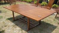 Extend Round Teak Picnic Table Clayton Design