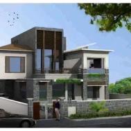 Exterior Compound Design House Designs India