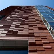 Exterior Inspiring Terracotta Panels House