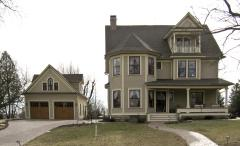 Exterior Modern Victorian Carriage House Plans Pebble