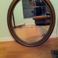 Faith Frosting Diy Wall Art Rope Mirror