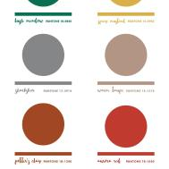Fall 2016 Pantone Colors Chart Erika Firm