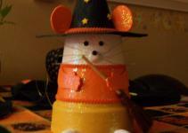 Fall Halloween Clay Pot Ideas
