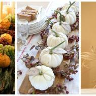 Fall Thanksgiving Centerpieces Diy Ideas