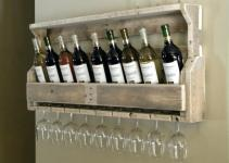 Fascinating Wine Rack Chalk Board Paint Build