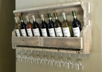 Fascinating Wine Rack Chalk Board Paint Build