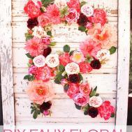 Faux Floral Diy Tutorial Silk Arrangement