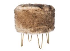 Faux Furs Add Panache Fall Home Decor Orange County
