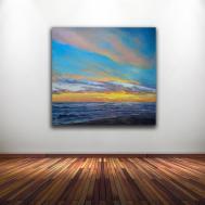 Fay Wyles Fine Art Stock Wall Big Sky