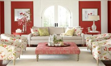 Feminine Bathrooms Living Room Furniture Pink