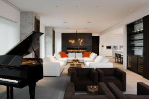 Fireplaces Modern 2017 Grand Piano Placement