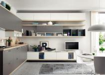 Fitted Kitchen Foodshelf Scavolini Line