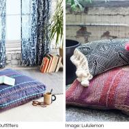 Floor Cushions Poufs Design Decor