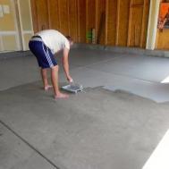 Floor Diy Garage Paint Rock Solidpaint Epoxy Home