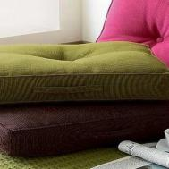Floor Pillows Adorn Interior Exotic Asian Style
