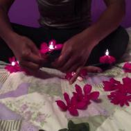 Flower Lights Tutorial Dorm Room Decoration Idea