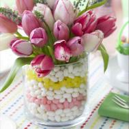 Flowers Easteregg Crafts Rustic Boxwood