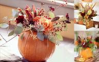 Flowers Imanada Table Centerpieces Autumn Centerpiece