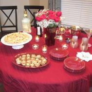 Foodie Diet Valentines Day Dinner Party