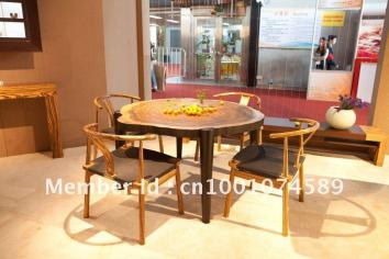 Forest Dining Table Natural Style High End Solid Wood