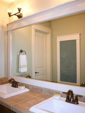 Frantic Vanity Bathroom Framed Mirrors Menards