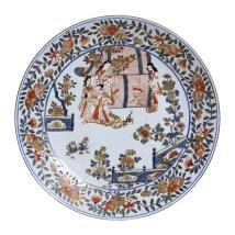 French Samson Porcelain Imari Style Charger