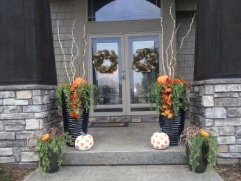 Front Porch Decorating Ideas Fall Home Design
