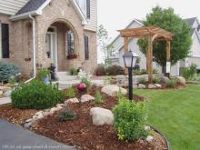 Front Yard Landscape Ideas Ranch Homes Garden Post