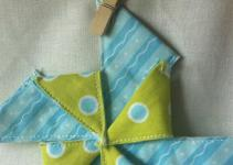 Frozen Knickers Diy Fabric Pinwheel