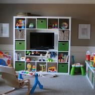 Fun Furniture Set Playroom Ideas Wall Corner