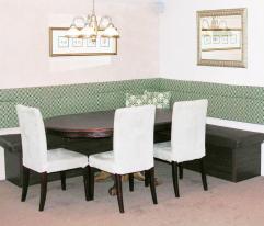 Furniture Diy White Wood Breakfast Nook Bench