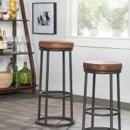 Furniture Tall Bar Stools Design Glass Windows