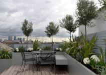 Garden Design London Terrace Thorplccom Also Modern Ideas
