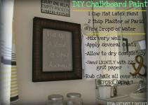 Gardners Bergers Chalkboard Projects Diy