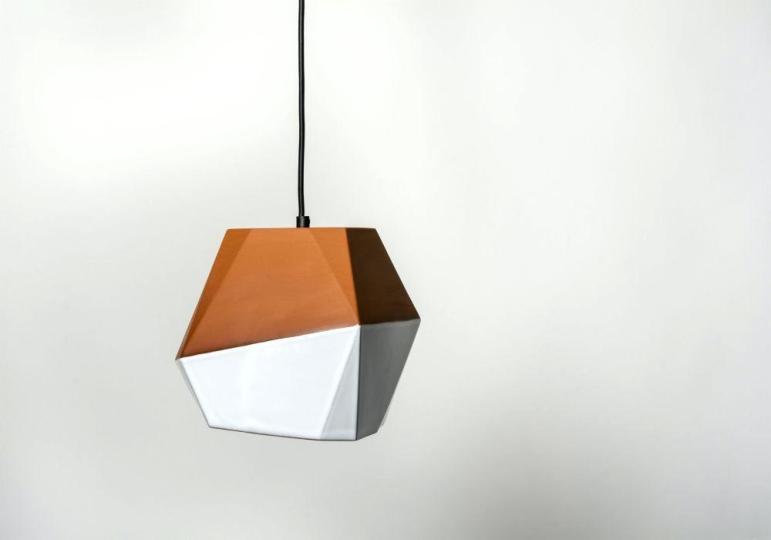 Geometric Pendant Light Diy Copper Fixture Runsafe