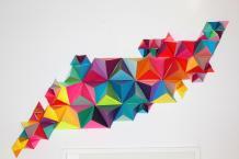 Geometric Wall Sculpture Make