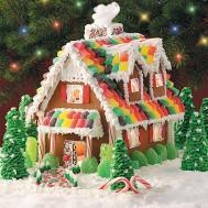 Gingerbread Christmas Cottage Recipe Taste Home