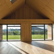 Glass Encased Maintenance House Built Last