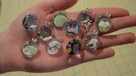 Glass Gem Necklace Pendant Tutorial