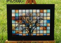 Glass Tile Tree Mosaic Happy Hour Projects