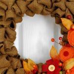 Glimpse Inside Bubble Burlap Fall Wreath Tutorial Decoratorist 207286