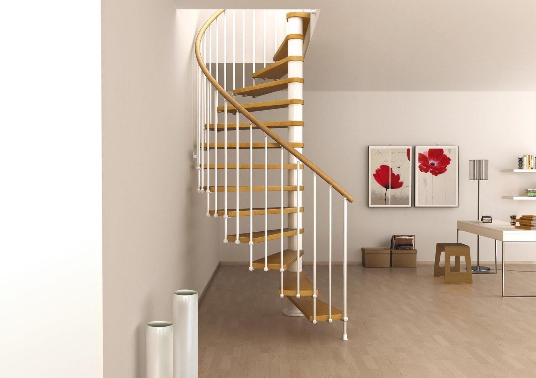 Good Space Saving Stair Design Home Interior Decor Decoratorist | Space Saver Staircase Plans | Stair Case | Storage | Spiral Staircases | Landing | Staircase Ideas