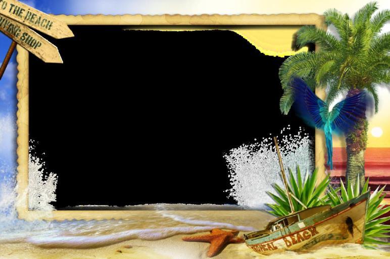 Good Way Decorate Beach Themed Frames Best