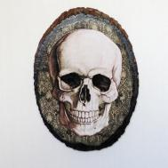 Gothic Wall Art Skull Decor Home Nacreousalchemy