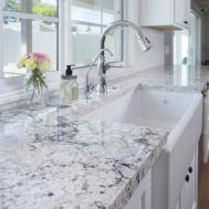 Granite Countertop Two Pieces Terrific