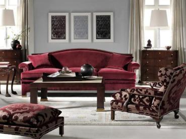 Gray Burgundy Living Room Militariart