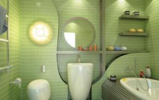 Green Color Bathroom Design Ideas