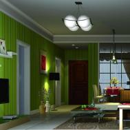 Green Living Room Wall Design House