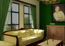 Green Room Ideas Living Nurani